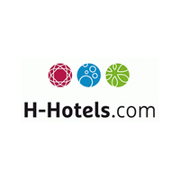 H hotels logo