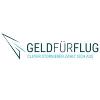 Geld fur flug logo neu
