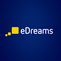Edreams logo blau cashback