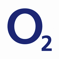 O2 logo inverted