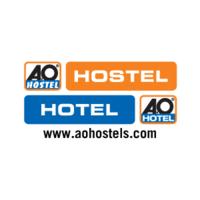 A o hostel logo